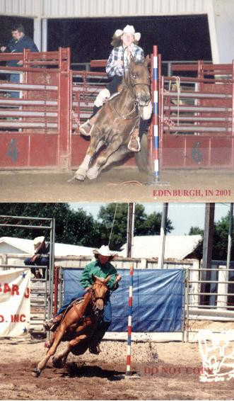"""Back in the """"old days"""" nothing spooked me. I loved to go to rodeos and speed shows to push the envelope."""