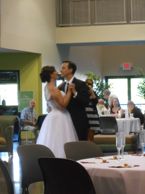 I love how Adam sang to Erica during their first dance.